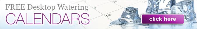 Watering Reminders Calendar