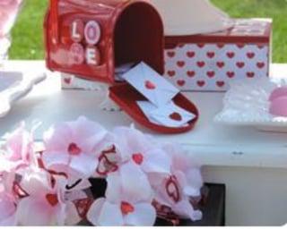 Miniature Mailbox Orchid Centerpiece